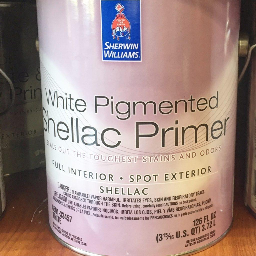 Sherwin Williams Shellac Primer
