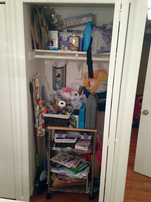Beautiful Protest, closet organization, declutter
