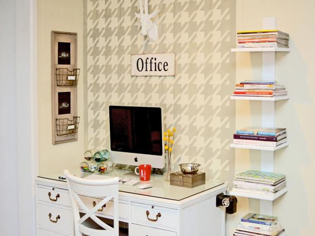 HGTV, Home office organization, clean and organize