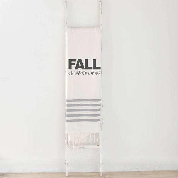 fall decor, throw, pcb home