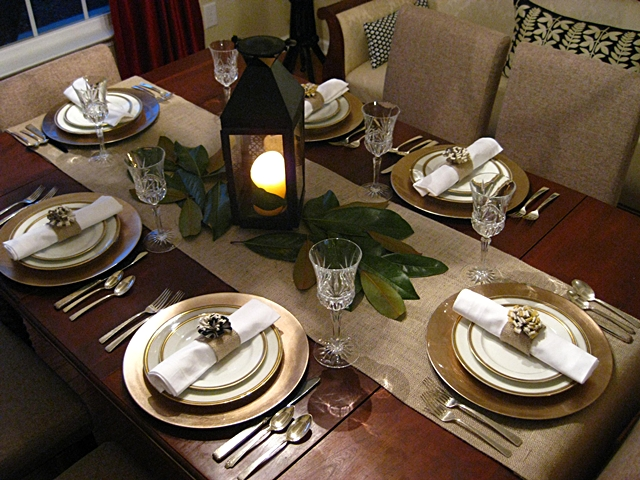 Fall table setting, Eat Sleep Decorate, Thanksgiving Table setting