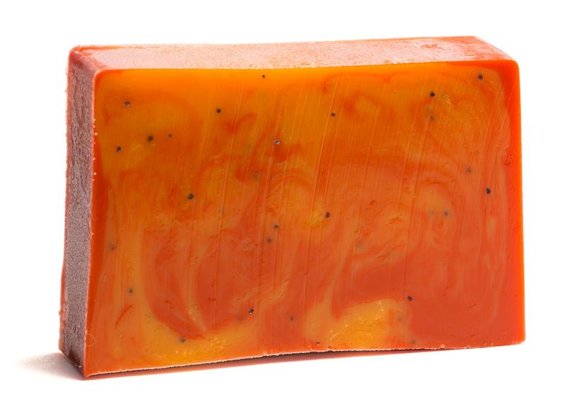 Essential Journeys, Cranberry Orange Poppyseed Soap