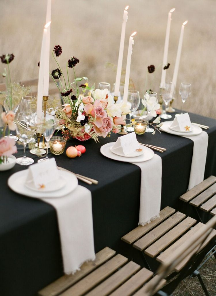 Autumn wedding, jemma keech, once wed, fall table setting, thanksgiving table setting
