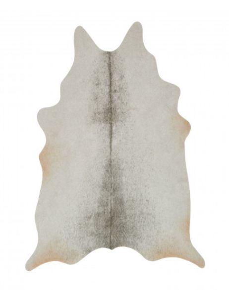 Dezignable Grand Canyon Silver/Grey Faux Cowhide Rug