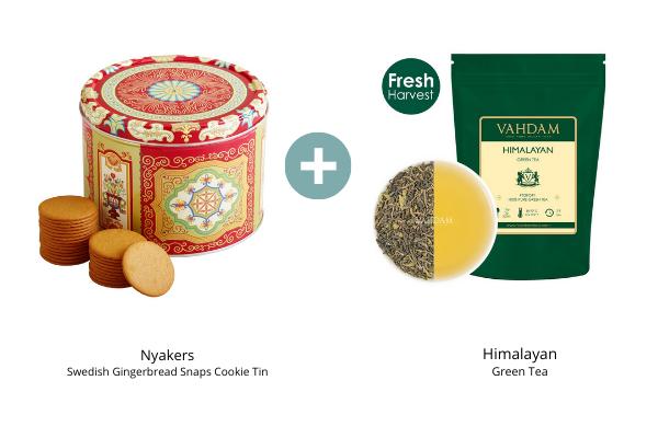 Ginger Cookies Himalayan Green Tea