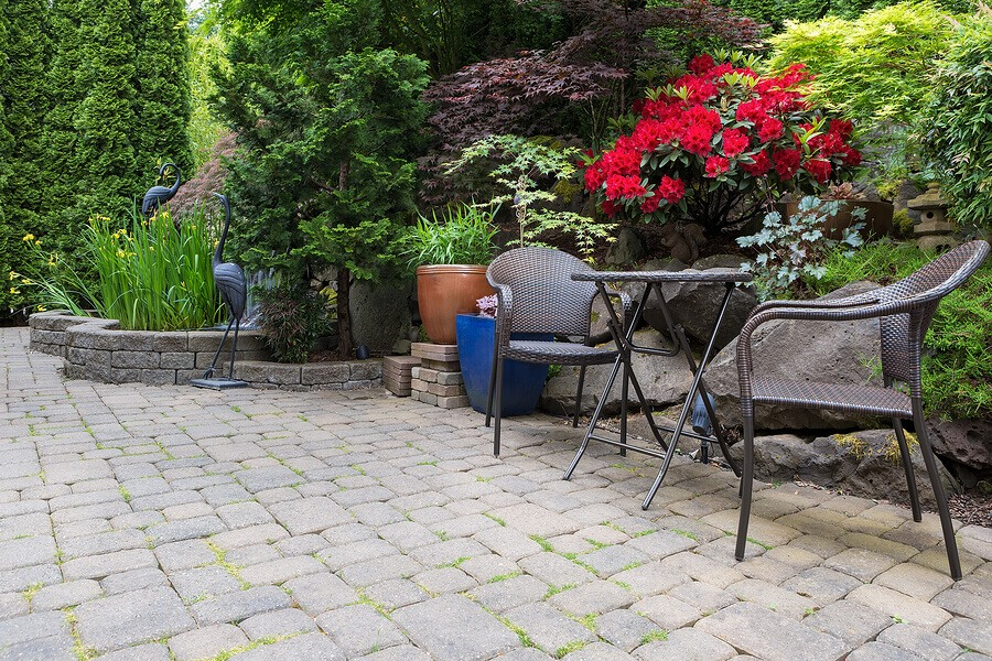 Getting Rid of Grass Between Patio Stones