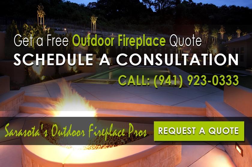 Outdoor Fireplace Construction Sarasota