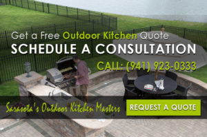 Sarasota Outdoor Kitchen Installation
