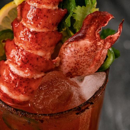 Lobster Cesar - Cocktail zoom