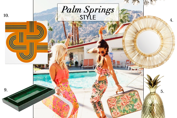 Palm Springs Style, Image on Summer Thornton Design Blog