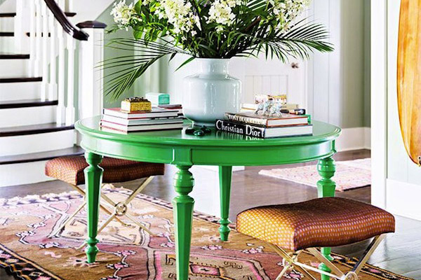 How To Decorate A Chic Foyer, Interior Design Image of Southern Charm Patricia Altschul Home on Summer Thornton Design