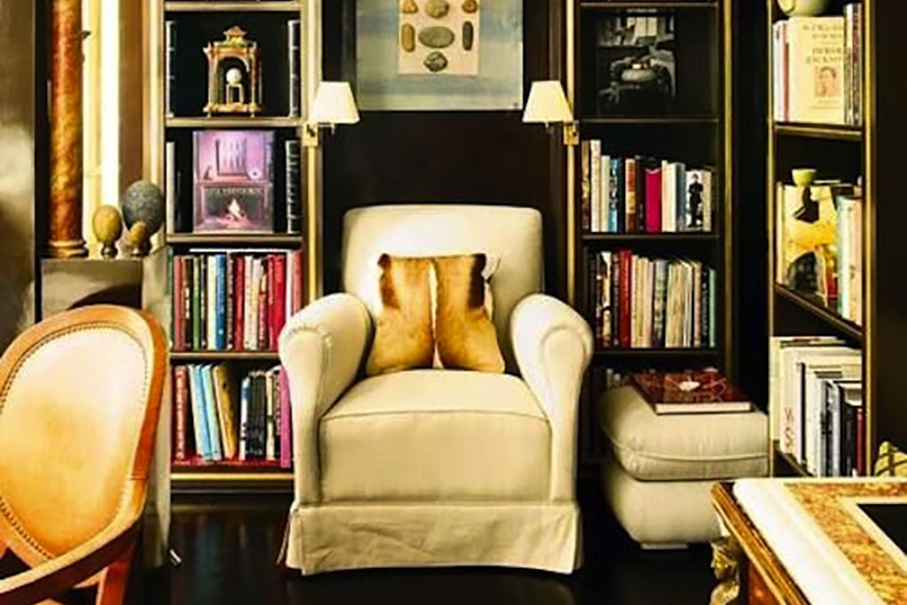 How to Style a Bookshelf, Interior Design Inspiration Image On Summer Thornton Design