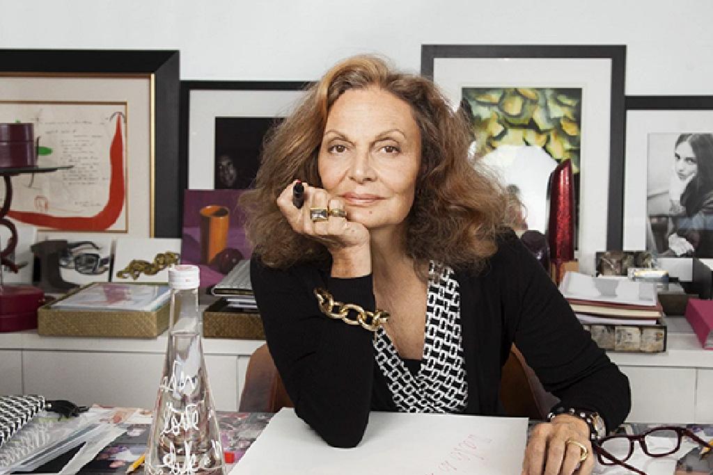 Syle Icons Diane Von Furstenberg, Summer Thornton Design Blog