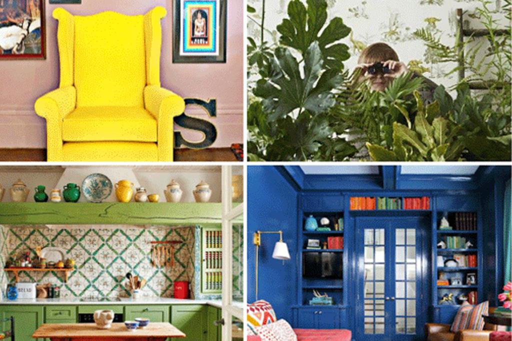 Wes Anderson decor inspiration, Interior design inspiration image on Summer Thornton Design