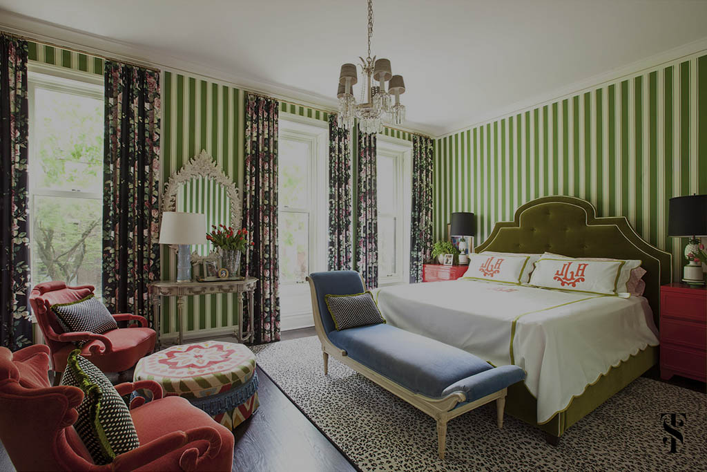 Decorating Advice, Mix Pattern And Color Recklessly, Interior Design by Summer Thornton Design