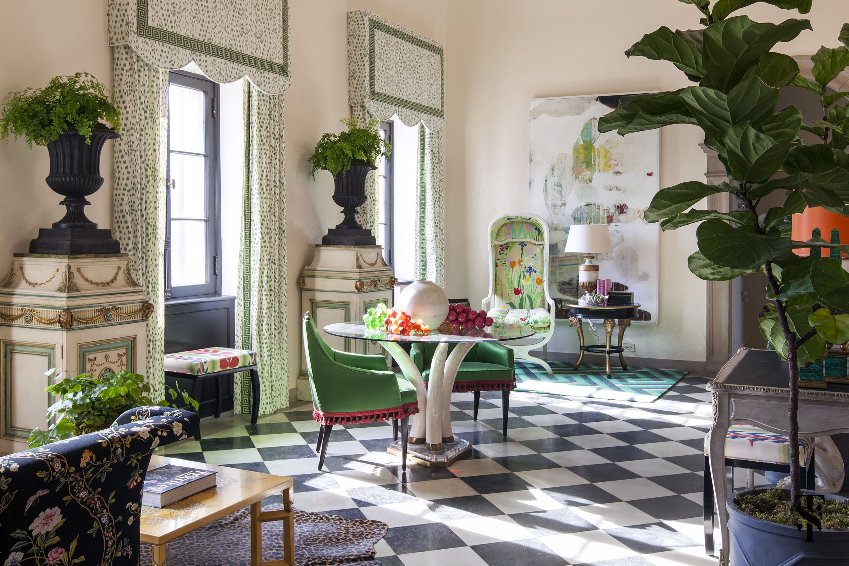 Lake Forest Show House Gallery, Interior Design By Summer Thornton Design