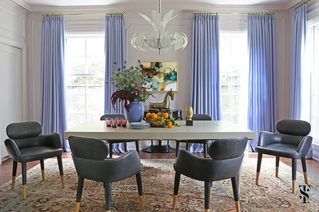 Wilmette Historical Home, Dining Room, Interior Design by Summer Thornton Design