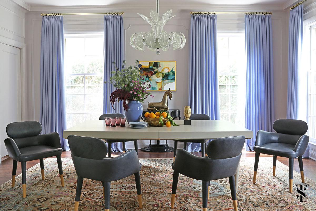 Wilmette Historical Home, Dining Room, Interior Design by Summer Thornton Design
