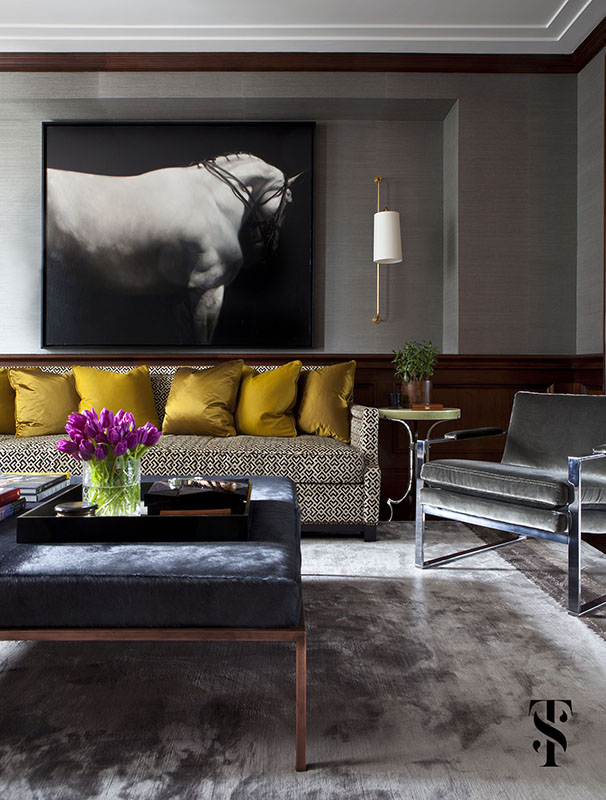 Palmolive Penthouse, Interior Design by Summer Thornton Design