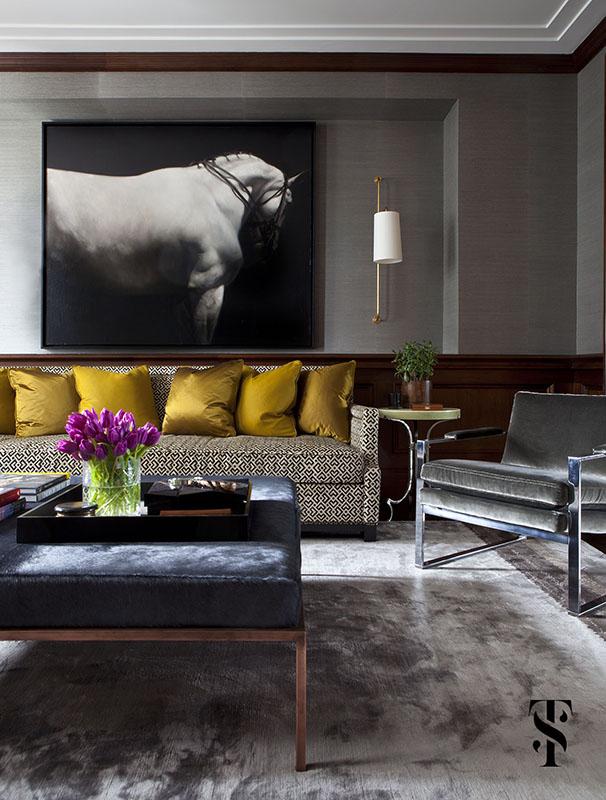 Palmolive Penthouse, Interior Design by Summer Thornton Design