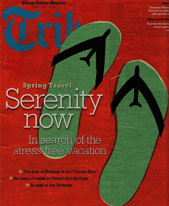 Chicago Tribune Magazine April 2009, Summer Thornton Design