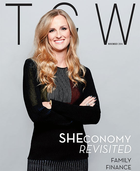 Today's Chicago Woman, TCW, November 2014, Summer Thornton Design