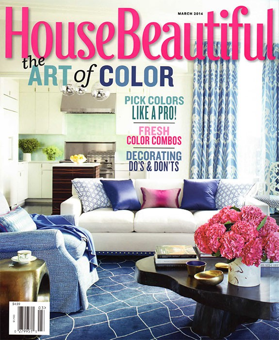 House Beautiful, March 2014, Bath of the Month, Summer Thornton Design