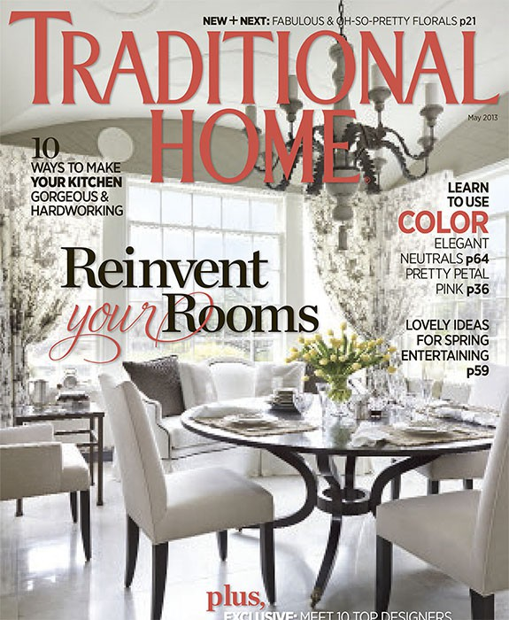 Traditional Home, May 2013, New Trad Designers, Summer Thornton Design