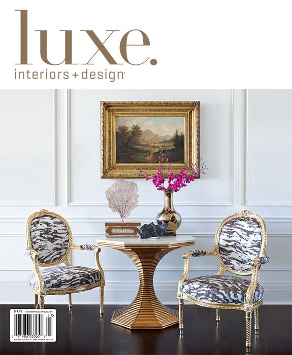 Luxe Interiors and Design, Fall 2012. Palmolive Building. Summer Thornton Design