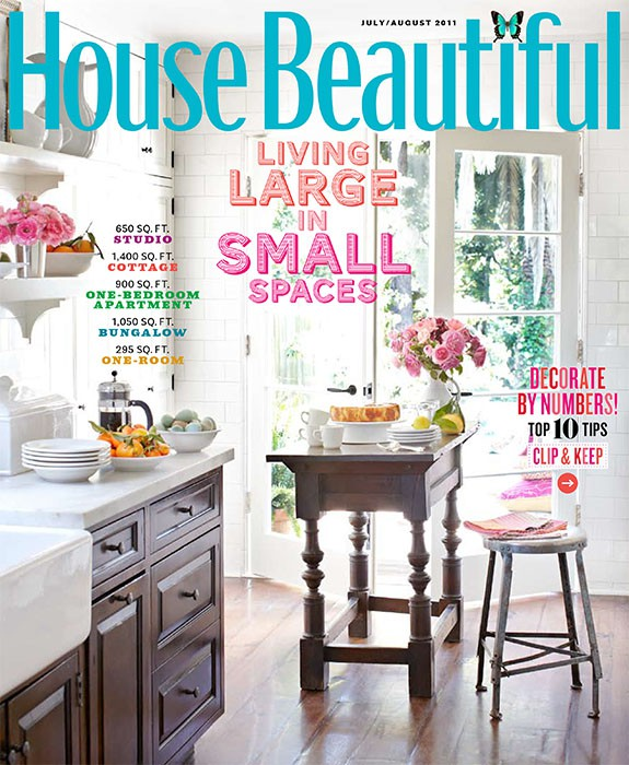 House Beautiful, July 2011, Kitchen of the Month, Summer Thornton Design