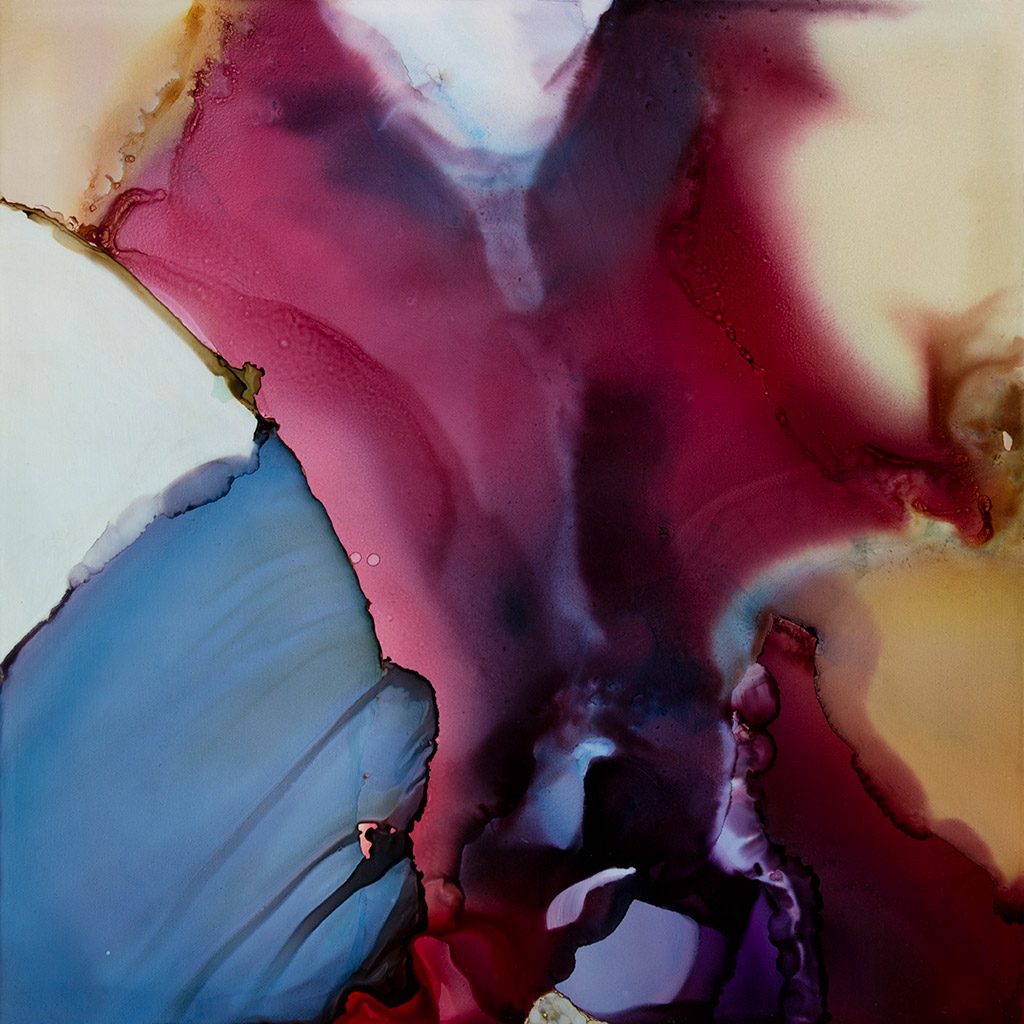 Andrea Pramuk Receive (study) Mixed-Media Painting Abstract