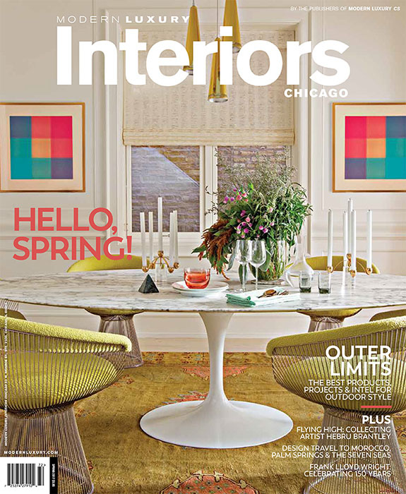 Modern Luxury Interiors Spring 2017