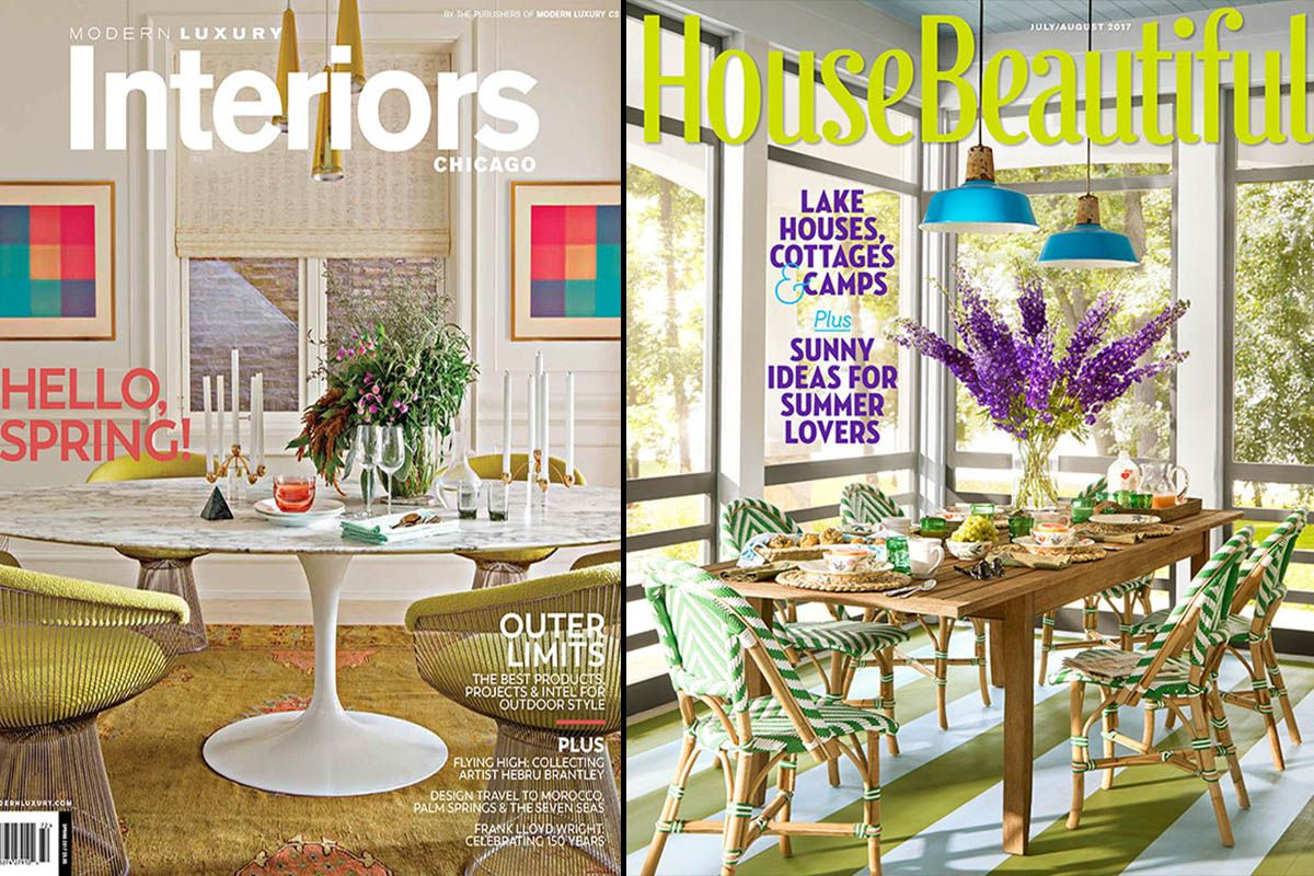 Interior Designer Summer Thornton interior design projects & homes on newsstands now