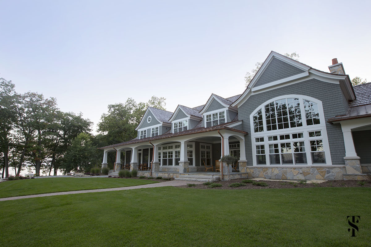 wisconsin lake home; interior design by summer thornton www.summerthorntondesign.com; architecture by McCormack + Etten