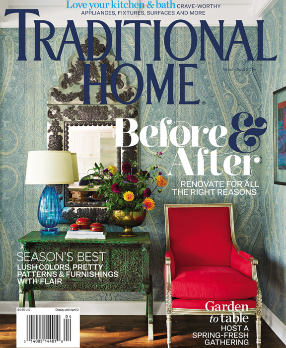 Traditional Home Cover March 2019 featuring Summer Thornton