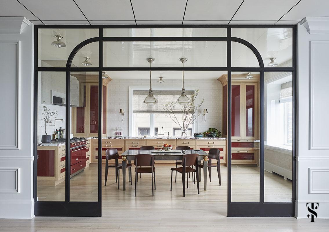 Chicago interior designer Summer Thornton renovation & decorating of a chicago Co-op