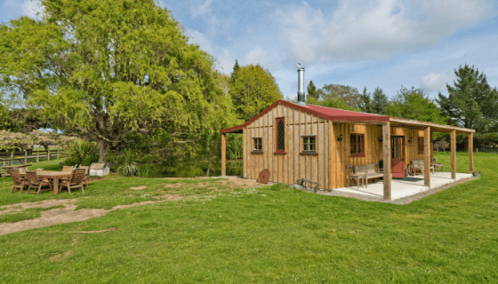 The Studio at our animal farm in West Melton