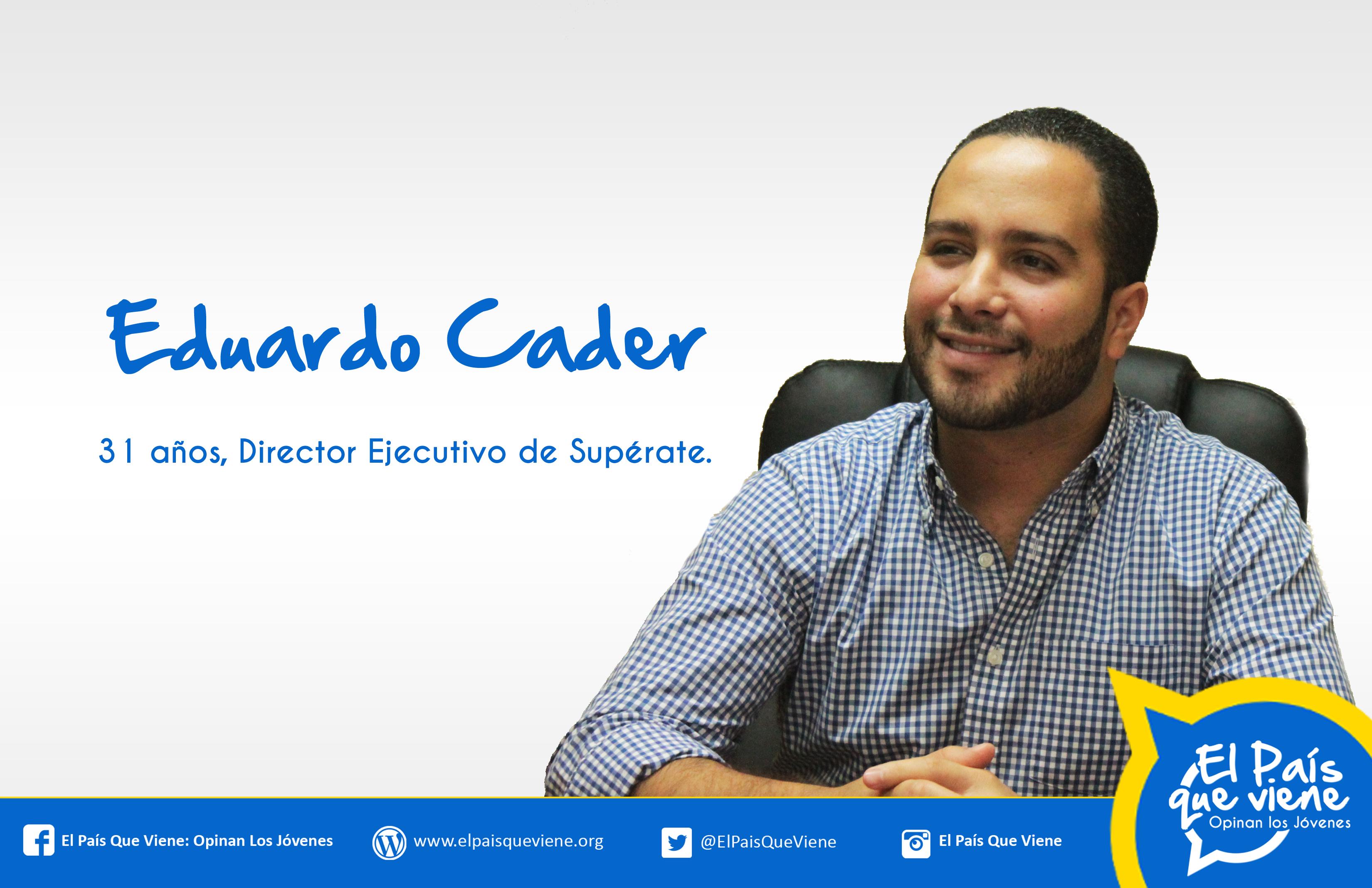 1 Eduardo Cader