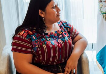 Lilian Xinico: Busco romper el círculo de la discriminación y violencia contra las mujeres