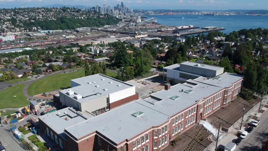Magnolia Elementary School, Seattle, WA
