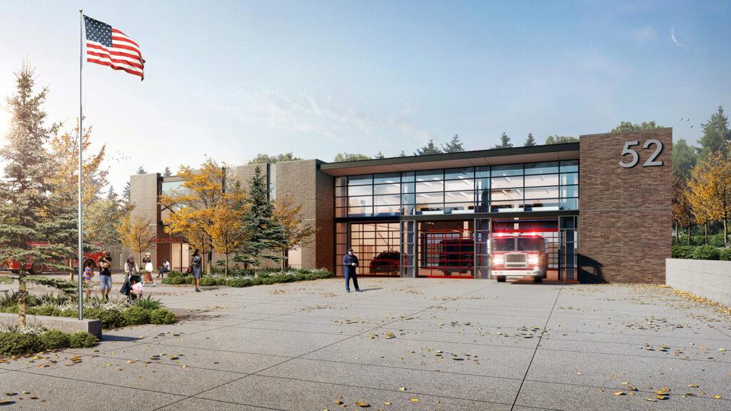 Tukwila Fire Station 52, Tukwila, WA