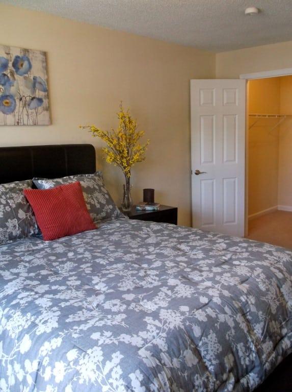 Cozy, charming bedroom