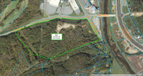 SOLD: Large Corner Commercial Tract in Sevierville