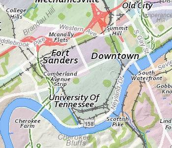 neighborhood map small