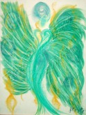 Wisdom of the Angels - Angel Gifts, Angelic Art, angels, Art, attraction, compassion, connection, emotions, healing art, Love, New age gifts, passion, romance, spirituality, Visionary Ar angel art