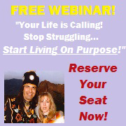 """""""Your LIFE is Calling!"""" FREE Webinar with Robert and Terri LynnT"""