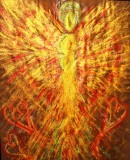 Wisdom of the Angels - Angel of emotional healing art