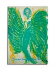 Wisdom of the Angels - angel art magnet, Angel Gifts, Angelic Art, angels, Art, attraction, compassion, connection, emotions, healing art, Love, New age gifts, passion, romance, spirituality, Visionary Art