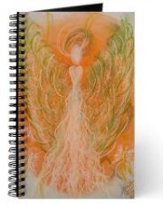 manifestation angel art journal