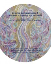 Wisdom of the Angels - angel art label